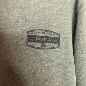 RVCA Shirts - Men's RVCA green sweatshirt